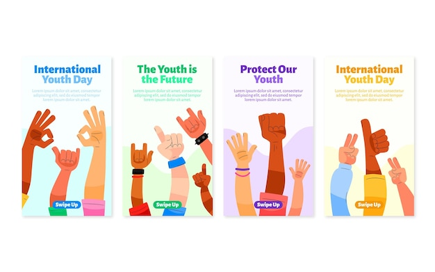International youth day stories collection