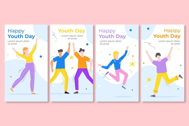 Raccolta di storie per la giornata internazionale della gioventù