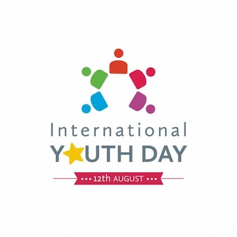International youth day symbol
