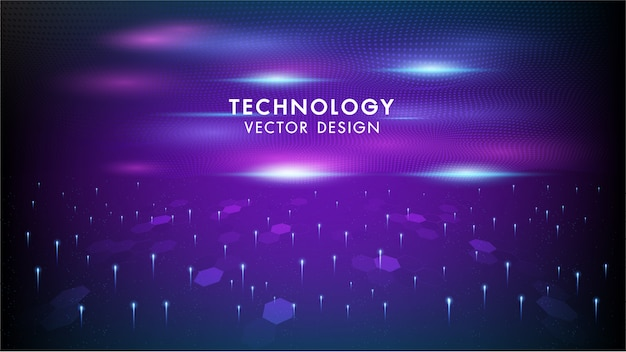 Internet connection networking vector abstract futuristic background