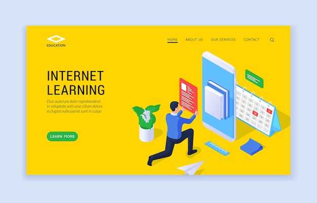 Интернет-сайт обучения
