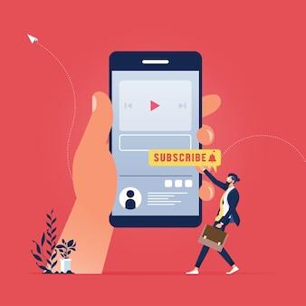 Интернет-маркетинг и концепция маркетинга в социальных сетях, концепция видеоблога