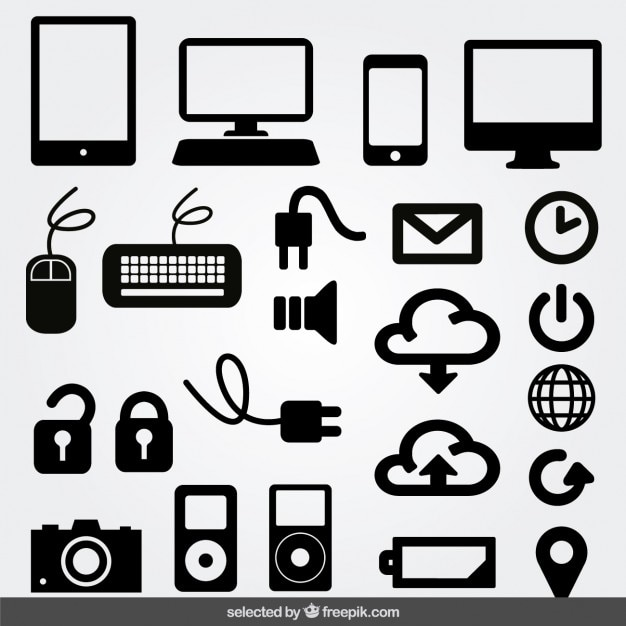 computer vectors photos and psd files free download rh freepik com computer icon vector png computer icon vector png