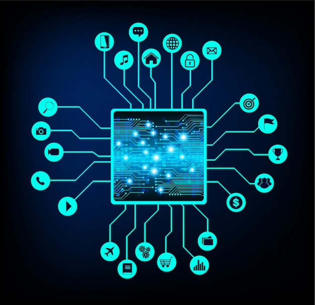 사물 인터넷 cpu 회로 사이버 기술