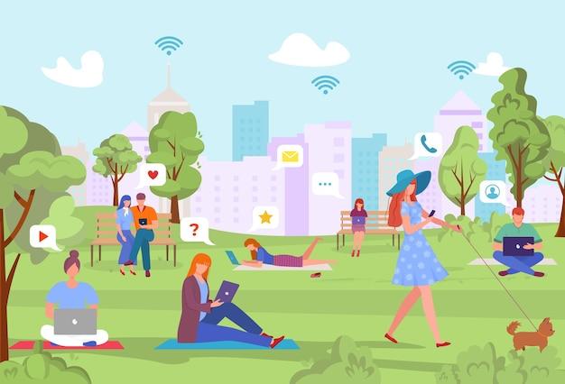Значок социальных сетей в интернете