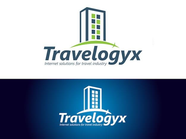 Internet solutions company logo design