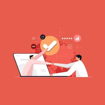 Интернет-технологии для crm и business network customer relationship management для маркетинговой системы продаж бизнеса