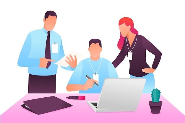 인턴쉽 직업 개념