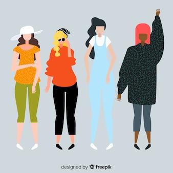 여자의 인종 그룹