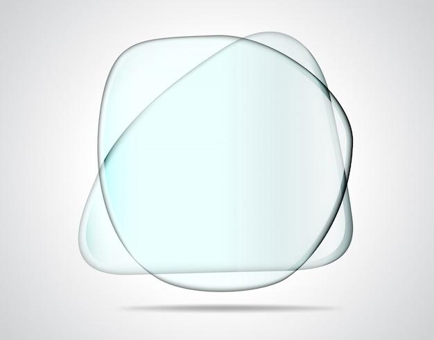 Пересекающиеся стеклянные пластины