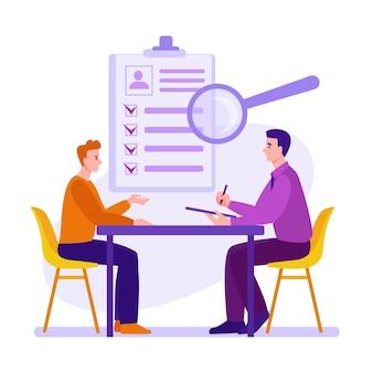 Собеседование процесс трудоустройства выбор кандидата служба найма и трудоустройства