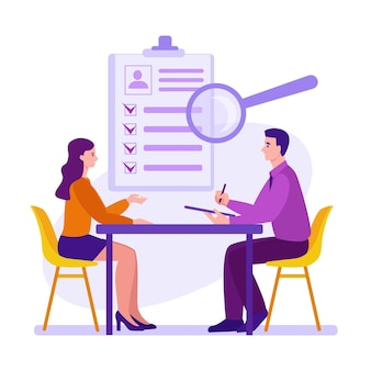 Interview employment process candidate selection recruitment and placement service