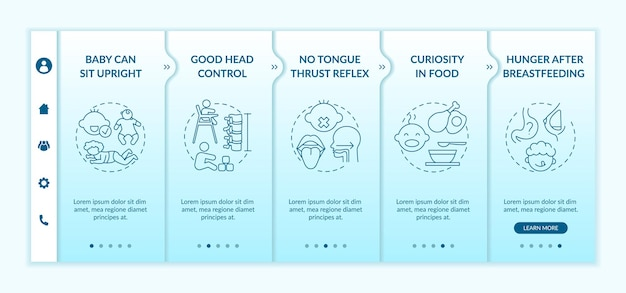 Introducing baby food requirements onboarding template