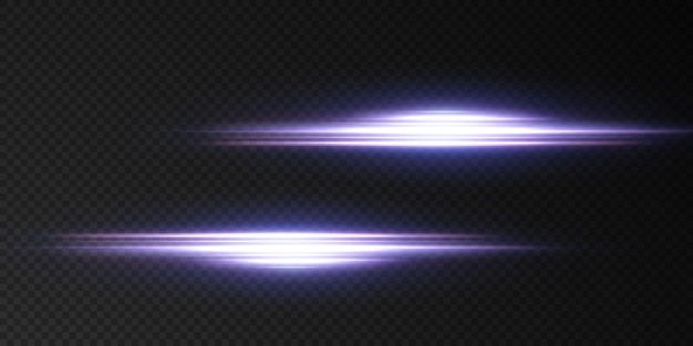 Introducing the effects of  neon light sets. glowing blue abstract line. suitable for transparent lens flare effect.