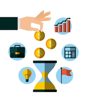 Invest money and business design