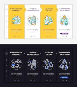 Investigation donation onboarding template
