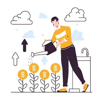 投資の概念図