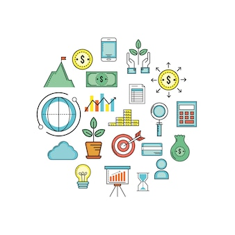 Investment and analytics to busines corporation strategy