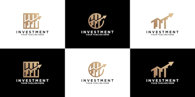 Investment and business logo design inspiration collection