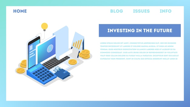 Investment concept illustration. idea of financial support.