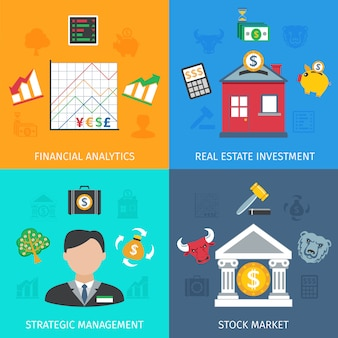 Investment flat set