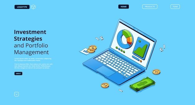 Investment strategies and portfolio management landing page
