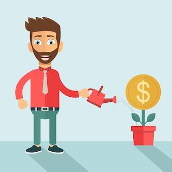 Investor businessman