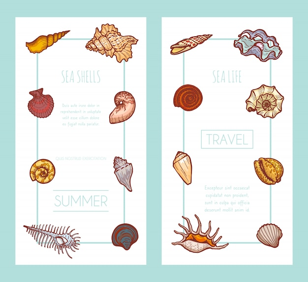 Invitation card tropical holiday summer travel time, concept web banner   illustration. vacation paradise place, postcard.