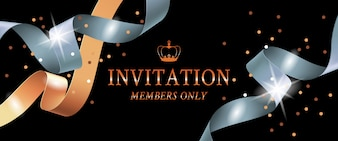 Invitation members only banner