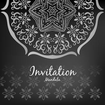 マンダラデザインによる招待
