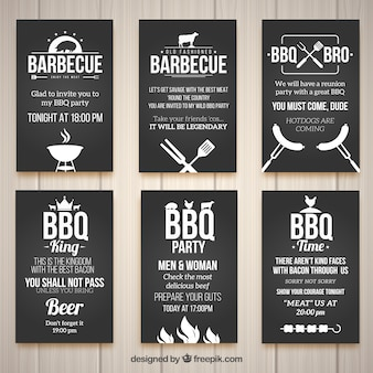 bbq invitation vectors photos and psd files free download