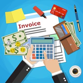 Invoice payment design