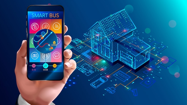 Iot technology in house automation, smart home