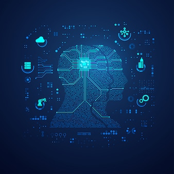 Коммуникационные технологии или iot фон