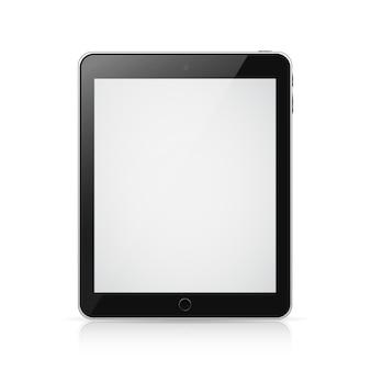空白の画面を持つipadタブレットコンピューター