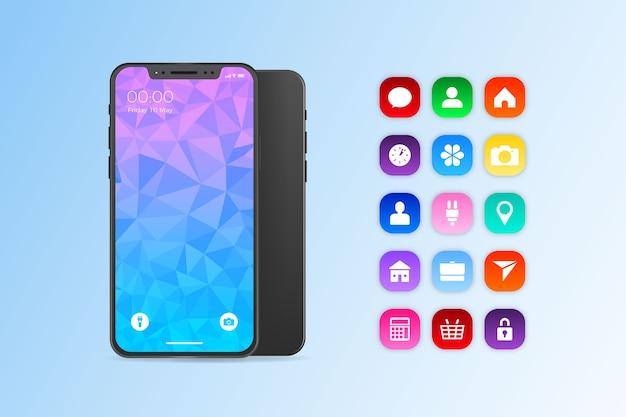Iphone 11 в реалистичном дизайне