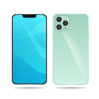 Реалистичный макет iphone 11