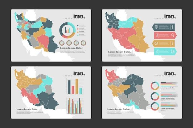 이란지도 인포 그래픽