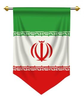 Iran pennant