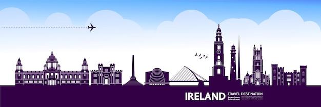 아일랜드 여행 목적지.