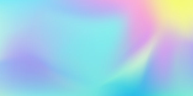 Iridescent color blend, abstract liquid pattern.