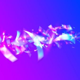 Iridescent texture. light background. shiny flyer. disco festival sunlight. fantasy foil. blue laser glare. carnival effect. bright art. violet iridescent texture