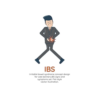 Irritable bowel syndrome concept design