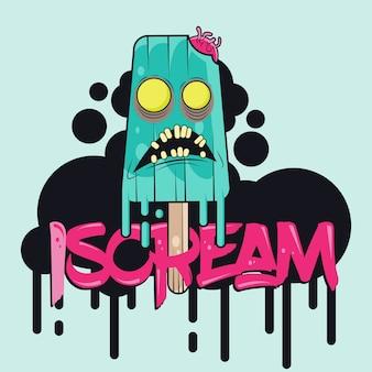 Iscream character
