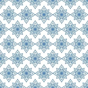 이슬람 추상 장식 원활한 패턴, 배경에 대한 아랍어 기하학적 장식