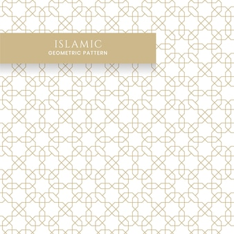 Islamic arabic seamless geometric pattern