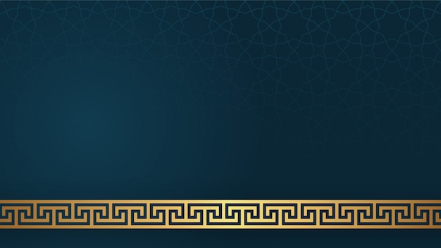 Islamic arabic style decorative ornament background