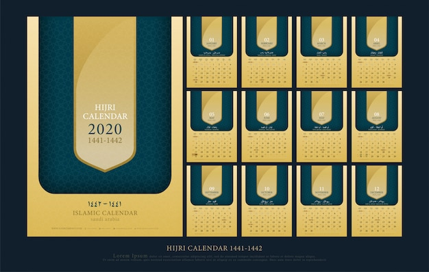 Islamic calendar 2020