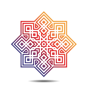 Islamic decoration ornament