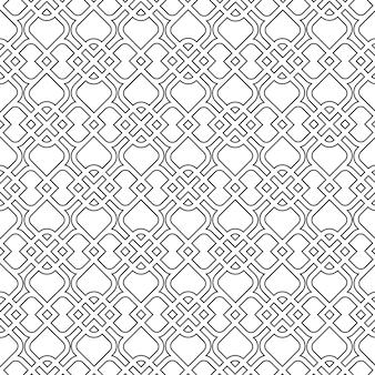Islamic delicate pattern. seamless
